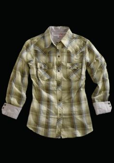 Sweetgrass Plaid :  Ladies Tin Haul® Western Shirt