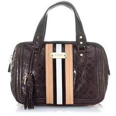 3054b9498158 L.A.M.B. Music Fadeout Leather Satchel Handbag