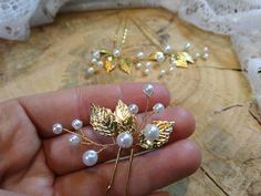 Check out this item in my Etsy shop https://www.etsy.com/listing/547517180/wedding-hair-barrette-bridal-hair-pins