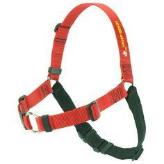 The Original SENSE-ation No-Pull Dog Training Harness (Red, Small)