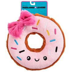 Give your pooch this kawaii donut to chomp on.