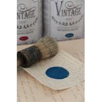 Vintage Paint Warm Blue 100 ml Slå dig løs med DIY på møbler, interiør, gulve, vægge ... Ja stort set alt kan få en overhaling med det smukke kalkmaling.  Hvilken Farve er Din favorit? :) http://www.galleri-hebe.dk/vintage-paint/kalk-maling-til-moebler