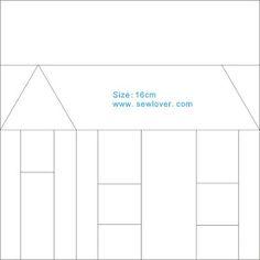 房子拼布图案 - 小琳 - Picasa Web Albums