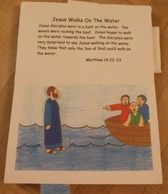 Miracles of Jesus Lesson Plans | Bible Songs And More