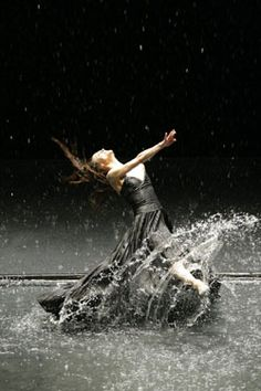 Pina Bausch Tanztheater Wuppertal's 'Vollmond' (Full Moon)  | Photo COURTESY OF LAURENT PHILIPPE