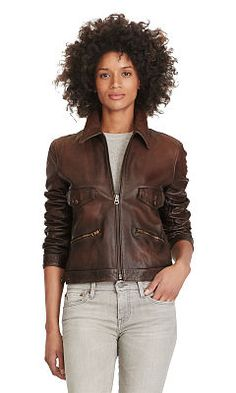 1000+ ideas about Ralph Lauren Leather Jacket on Pinterest | Leather Jackets, Ralph Lauren and Green Boots