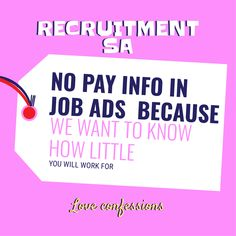 Love Confessions, Job Ads, Recruitment Advertising