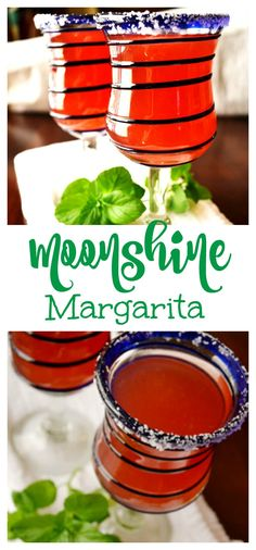Love this margarita recipe. A yummy moonshine margarita which would be a perfect 4th of July drink. A super yummy summer cocktail.