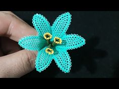 Fashion and Lifestyle Crochet Flowers, Crochet Lace, Free Crochet, Seed Bead Tutorials, Beading Tutorials, Needle Tatting, Needle Lace, Embroidery Stitches, Hand Embroidery