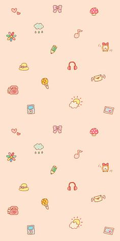 『 iphone5壁纸- 桌面壁纸- 插画-文字- 动漫- 平铺 - 萌物- 人物 』 ✿Yes_girL✿ Cute Wallpaper For Phone, Kawaii Wallpaper, Pastel Wallpaper, Love Wallpaper, Computer Wallpaper, Cellphone Wallpaper, Screen Wallpaper, Iphone Wallpaper, Cute Backgrounds