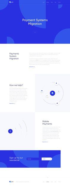 jpg by Jan Wolinger Modern Web Design, Web Design Trends, Corporate Presentation, Presentation Design, Design Social, Ui Web, Landing Page Design, Website Design Inspiration, Web Layout