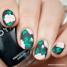 Wondrously Polished: Nail Art - Erin Condren Life Planner inspired Guest Post