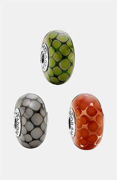 PANDORA 'Exotic' Large Murano Glass Charm | Nordstrom