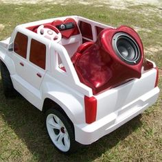 pimped out power wheels cars for kidsdiy