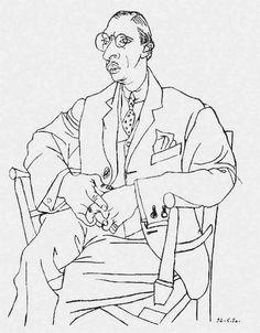Stravinsky by Pablo Picasso