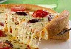 Receita de Pizza de Pizzaria - Receita Toda Hora