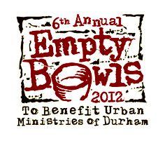 Urban Ministries of Durham, NC   Empty Bowls 2012 a success