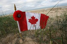 Juno Beach, Normandy, France-- Where Charles de Gaulle came ashore