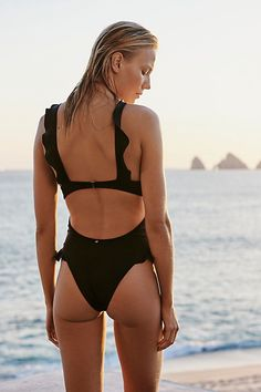 45b86b8273 Slide View 1: Rodeo Keyhole One-Piece Swimsuit Fashion Swimsuits, Modest  Swimsuits,