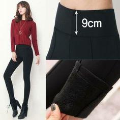 Banded-Waist Brushed-Fleece Lined Leggings from #YesStyle <3 Stylementor YesStyle.com