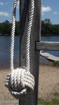 Nautical Wedding decorations  10 pew decorations by KarensRopeWork, $120.00