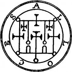 Goetia Demon Sigils of The | Demons of the Ars Goetia