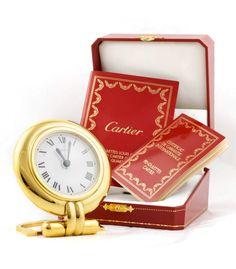 Cartier - Reloj despertador de viaje Colisee en subasta - Subastas Regent's | Joyas y Antigüedades