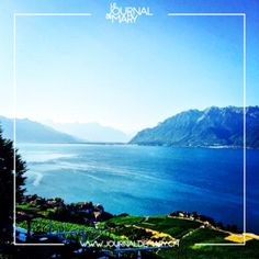 BT-19-01 Le Baron, Mountains, Nature, Travel, Lake Geneva, Vine Yard, Naturaleza, Viajes, Trips