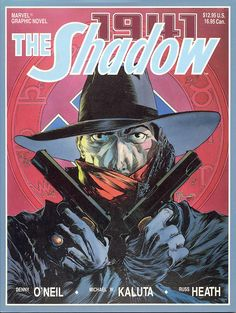 A graphic novel is a stand-alone story which uses sequential art to tell a story. Another generally accepted example is a 'trade Paperback' book which is a collection of episodic comics to create a whole story arch. Marvel Graphic Novel: The Shadow