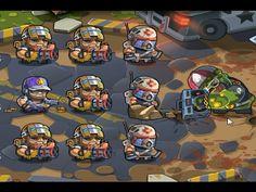 BOSS Elite Squad 2 HARD level 5 Full Victory Walkthrough gameplay (TD game)