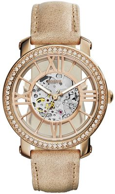 Zegarek damski Fossil Automatic ME3060 - sklep internetowy www.zegarek.net