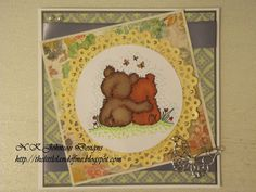 The little land of Me! Teddy Love  Crafty Sentiments