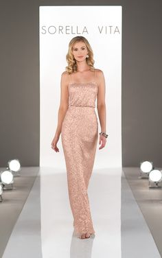 129f6a73d1 8690 in Rose Gold - size 10 Bridesmaid Gowns