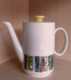 Retro Biltons Staffordshire Coffee Pot VGC