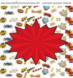 Super Héroes: Etiquetas para Candy Bar para Imprimir Gratis.