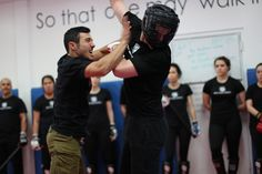 Our new instructor at Krav Maga Experts in NYC, Raz