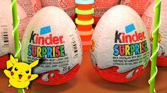 Kinder Surprise Eggs Pokemon Surprises Киндер Сюрприз Покемоны
