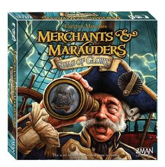 Z-Man Games Merchants and Marauders Expansion Seas of Glory: Amazon.de: Spielzeug