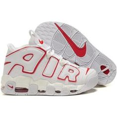 best sneakers 06359 d6865 Nike Air More Uptempo Scottie Pippen Shoes White Red Sport Air Jordan Shoes,  Kd
