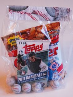 baseball snacks party - Google Search