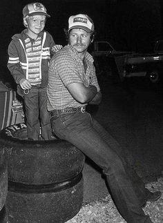 Dale Earnhardt Sr. & Jr.