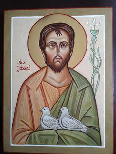 Bible Images, Us Images, Saint Joseph, Religious Art, Priest, Ikon, Jesus Christ, Religion, Painting
