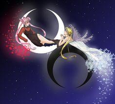 Sailor Chibi Moon/Black Lady - Pesquisa Google