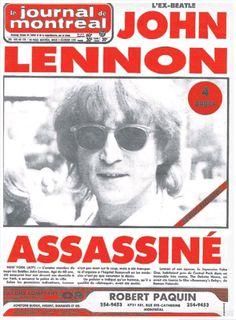 9 décembre 1980 - John Lennon assassiné