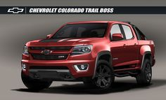 2016 Chevrolet Colorado Trail Boss 3.0 SEMA | GM Authority - 2016 Chevrolet Colorado Z71 Trail Boss Concept Sema