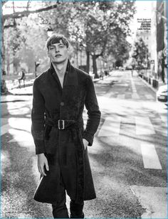 Roberto Sipos Rocks Standout Coats & Tailoring for Icon Magazine