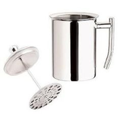 stainless milk frother for homemade cappuccinos! You can heat the milk on the stove top.