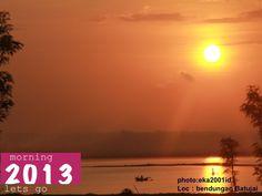 sun rise at Batujai Dam,Lombok,Indonesia