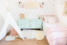 French Home Decor Fun playroom design by The Posh Home.French Home Decor Fun playroom design by The Posh Home