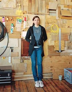 Phoebe Washburn is an artist, best known for her industrial installations; notable works include Between Sweet and Low (2002), It makes for my billionaire status (2005) and Regulated Fool's Milk Meadow (2007). (Newcomb College '96)